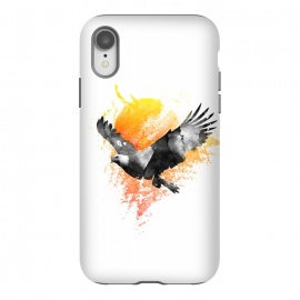 iPhone Xr  The Eagle that touched the sun by Rui Faria (eagle,sun,ink,paint,watercolor)