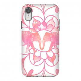 iPhone Xr  elephants by  (elephants,animal,animals,pink,mandala,boho,nature,floral)