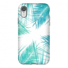 iPhone Xr  La Tropic by Rui Faria (nature,palm,summer,tropical,ink,paint)