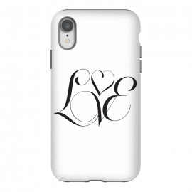iPhone Xr  Love by  (love,type,typography,minimal,valentines,clean)
