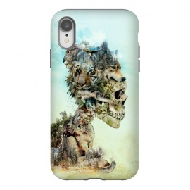 iPhone Xr  Nature Skull by Riza Peker