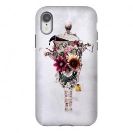 iPhone Xr  Scarecrow by  (skull,flowers,bird,skeletones,surreal,art,design,rizapeker)