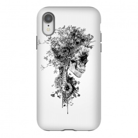 iPhone Xr  Skull BW by Riza Peker