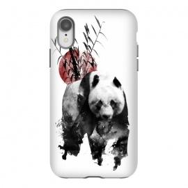 iPhone Xr  Rising Sun Panda by  (panda,japan,rising sun,sun,ink,paint)