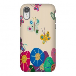iPhone Xr  Butterflies Garden by