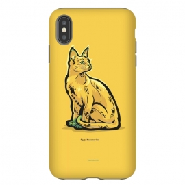 iPhone Xs Max  [ Fruit Cats ] Banana by Draco