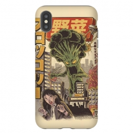 iPhone Xs Max  THE BROCCOZILLA by Ilustrata (broccozilla,tokio,desntruction,movie,japanese,Godzilla,kaiju,Terrible,food)