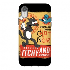 iPhone Xr  Chat Noir Simpsons by Ilustrata