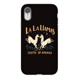 iPhone Xr  La La Llamas by Tatak Waskitho