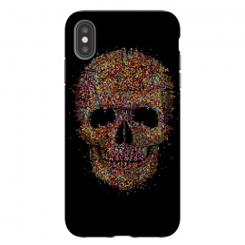 iPhone Xs Max  Acid Skull by Sitchko Igor (skull, acid,music,pixel,pixels,smite,electronic,underground,colorful,horror,particles,effect,color,8 bit,lsd)