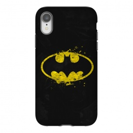 iPhone Xr  Batman's Splash by Sitchko Igor (Bat,batman,DC Comics,Dark Knight,Dark,Knight,Bruce,Wayne,Gotham,superhero,comics,movie)