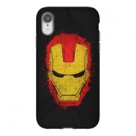 iPhone Xr  Iron Man splash by  (Iron,Man,Iron Man,Metal,Superhero,Comics,Movie,American,Marvel)