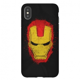 iPhone Xs Max  Iron Man splash by Sitchko Igor (Iron,Man,Iron Man,Metal,Superhero,Comics,Movie,American,Marvel)
