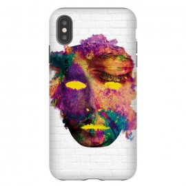 iPhone Xs Max  Holi Mask by Sitchko Igor (holi,mask,color,colorful,fest,festival,face,gulal,happy,india,love,paint,spring,watercolor,water)
