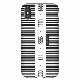 iPhone Xs Max  Music Code by  (Barcode,code,music,sound,electronic,zebra,secret,audio,black,white,DJ,deejay,tune,mp3,aiff,wav,track,mix,set)