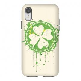 iPhone Xr  Patrick's clover by  (Patrick,clover,Saint Patrick's Day,day,Saint,festival,parade,holydays,irland,irish)