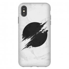 iPhone Xs Max  The Sun Is Black by Sitchko Igor (Sun,planet,black,white,black-white,burning,sunshine,black hole,hole,minimal,minimalism,grunge,earth)