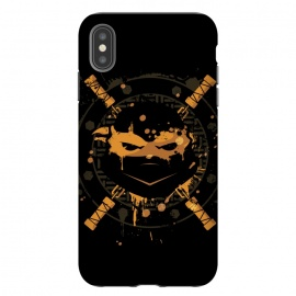 iPhone Xs Max  Michelangelo Turtle by  (Michelangelo,turtle,animal,TMNT,teenage,mutant,ninja,turtles,NY,splinter,soldiers,pizza,superhero,superheroes,comics,movie,tv)