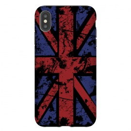 Grunge UK Flag Black by Sitchko Igor