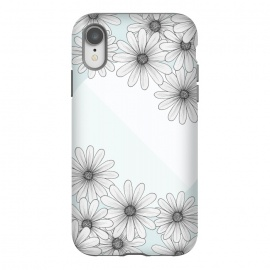 iPhone Xr  Happy Times by Barlena (flowers, blue, happy, times, circle, pastels)