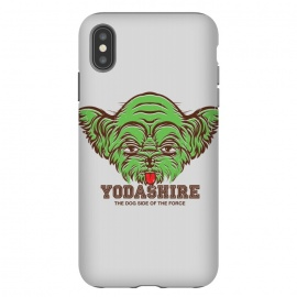 iPhone Xs Max  [ba dum tees] Yodashire by Draco (star,wars,yoda,dog,yorkshire,pet)