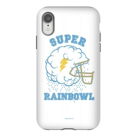 iPhone Xr  [ba dum tees] Super Rainbowl by Draco