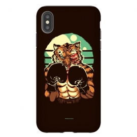 iPhone Xs Max  Eye of the Tiger by Draco (tiger,boxe,fight,mma,rocky,balboa)