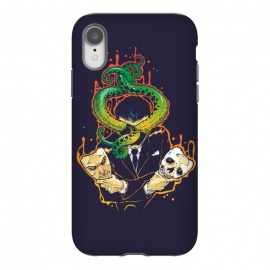iPhone Xr  Faceless Man by Draco (mask,skull,tentacle,octopus,politician,politics)