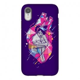 iPhone Xr  Heart-Shaped Box by  (woman,heat,love,crystal,mood,feel,feelings,sad)