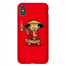 iPhone Xs Max  Monk by Draco (chinese,turttle,smoke,relax,monk)