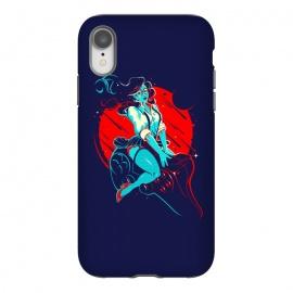 iPhone Xr  Pin-Up Nerdy by  (nerd,geek,gamer,games,joystick,girl,woman)