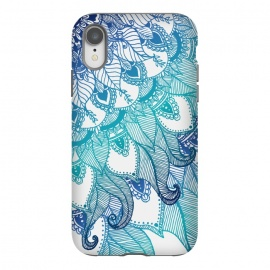 iPhone Xr  Mermaid  by Rose Halsey (mermaid,boho,hippie,mandala,zen)