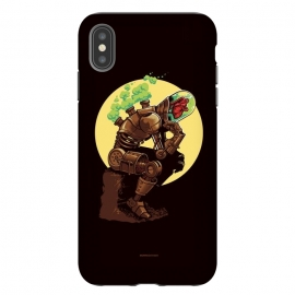 iPhone Xs Max  Thinker by Draco (Thinker,robot,cyborg,heart,steam,punk,steampunk)
