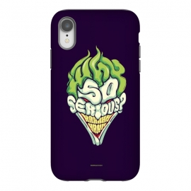 iPhone Xr  Why so Serious by  (joker, batman,typography)