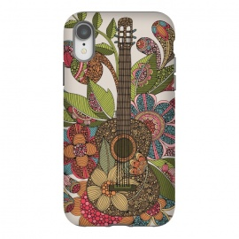 iPhone Xr  Ever guitar by  (guitar,flowers,colors)