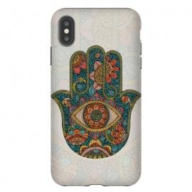 iPhone Xs Max  Hamsa by  (hamsa,colors)