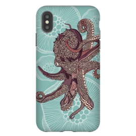 iPhone Xs Max  Octopus by Valentina Harper (Sea,octupus)