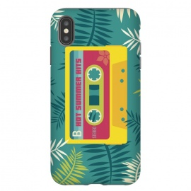 Hot Summer Retro Tape by Dellán (Summer, tropical,vintage,retro,music,geek,hipster,gamer,fresh)