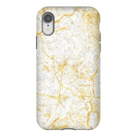 iPhone Xr  Golden Marble by Martina