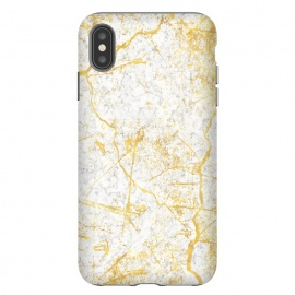 iPhone Xs Max  Golden Marble by Martina (marble,classy,elegant,modern,stylish,golden,luxury,classic,stone)