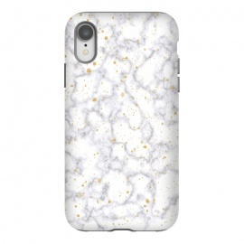 iPhone Xr  Simply Marble by  (marble, stone, modern, fashionable,stylish, unisex,classy,simple,clean,minimalist,gold,texture)