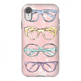 iPhone Xr  Funky Glasses by Martina (vintage,modern,glasses,accessories, fashion,fashionable,stylish,elegant,girlie,feminine,colorful,bright,pink,collection,funky,mod)