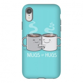 iPhone Xr  Mugs of Hugs by  (mugs, coffee, java,caffeine, coffee lover, positive,fun, funny, cute, coffee art,characters,hugs, love,hugging, mondays,mornings, friends, friendship,mates,steam,smiles,loving, caring,gift)