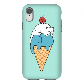 iPhone Xr  Animals Ice Cream by Coffee Man