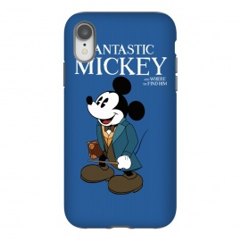 iPhone Xr  Fantastic Mickey by Alisterny (mickey-mouse, fantastic-beasts, fantasticbeast, mickeymouse, disney, waltdisney, harrypotter, hp, jkrowling, rowling, fantastic-beasts-and-where-to-find-them, wizard, wand, suitcase,mashup, mashups, funny, popculture, funnytshirt, funnyshirt, tshirt, parody, nerd, geek, geeky, humor, humour, fanart,)