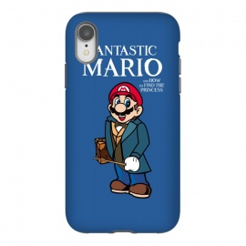 iPhone Xr  Fantastic Mario by Alisterny (mario, nintendo, mario-bros, mariobros, fantastic-beasts, fantasticbeast, harrypotter, hp, jkrowling, rowling, fantastic-beasts-and-where-to-find-them, wizard, wand, suitcase,mashup, mashups, funny, popculture, funnytshirt, funnyshirt, tshirt, parody, nerd, geek, geeky, humor, humour, fanart, fan ar)