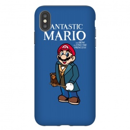 Fantastic Mario by Alisterny (mario, nintendo, mario-bros, mariobros, fantastic-beasts, fantasticbeast, harrypotter, hp, jkrowling, rowling, fantastic-beasts-and-where-to-find-them, wizard, wand, suitcase,mashup, mashups, funny, popculture, funnytshirt, funnyshirt, tshirt, parody, nerd, geek, geeky, humor, humour, fanart, fan ar)
