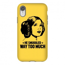 He Smuggled Way Too Much by Alisterny (star-wars, starwars, the-force, theforce, resistance, disney, leia, princess-leia, princessleia, hansolo, han-solo, he-smuggled-way-too-much, hesmuggledwaytoomuch, Carrie-Fisher, CarrieFisher, saskexpo,mashup, mashups, funny, popculture, funnytshirt, funnyshirt, tshirt, parody, nerd, geek, geeky, hu)