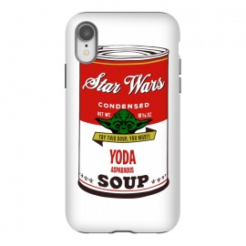 iPhone Xr  Star Wars Campbells Soup Yoda by  (mashup, mashups, funny, popculture, funnytshirt, funnyshirt, tshirt, parody, nerd, geek, geeky, humor, humour, fanart, fan art, movies, movie, film, quotes, cool, design, tee, t-shirt,starwars, warhol, theforceawakens, sci-fi, waltdisney, sciencefiction,soup, modern, andywarhol, campbells soups, pop)