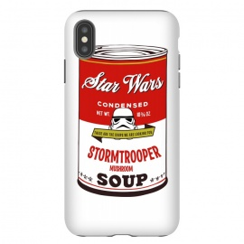iPhone Xs Max  Star Wars Campbells Soup Stormtrooper by Alisterny